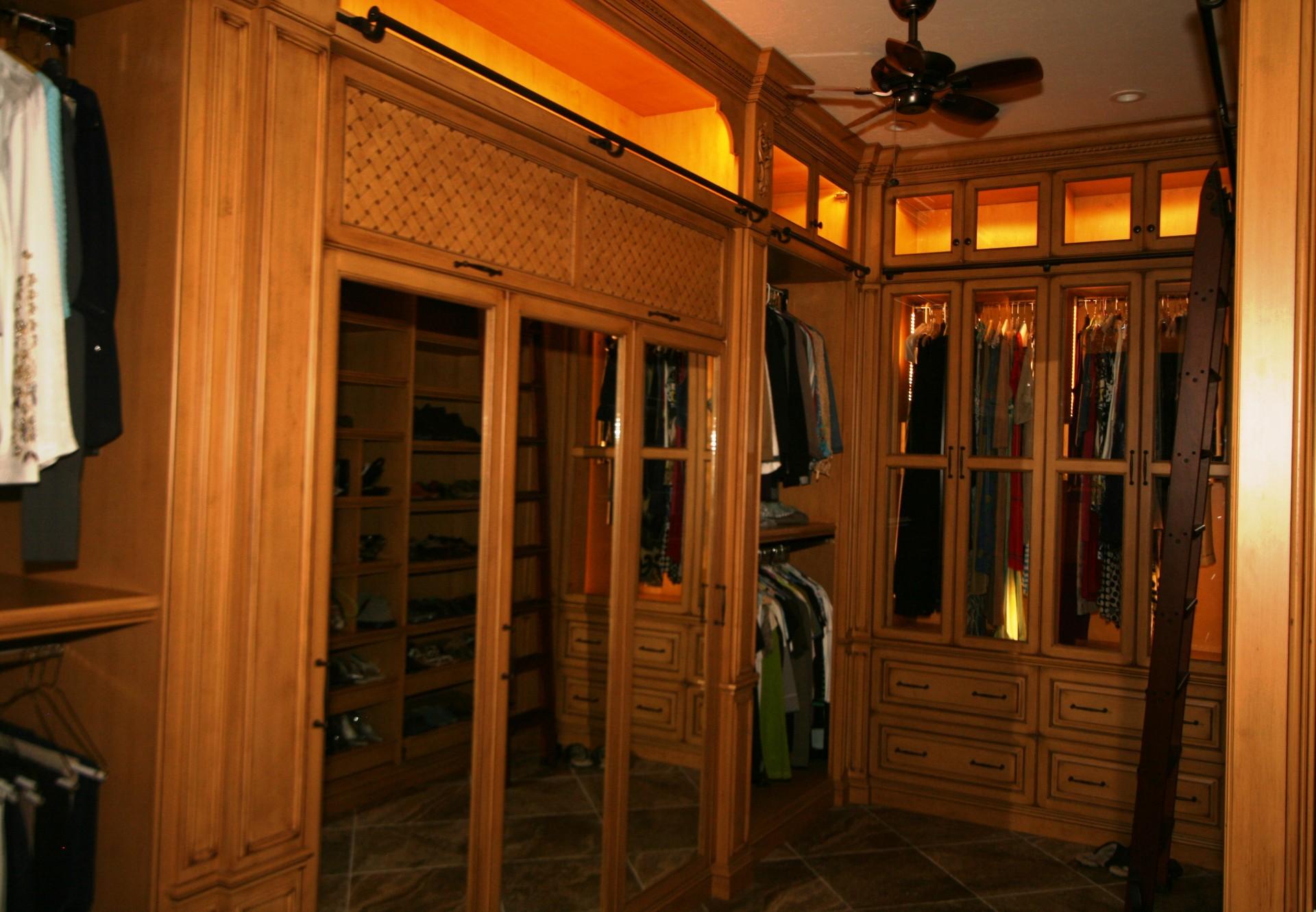 Damron master closet